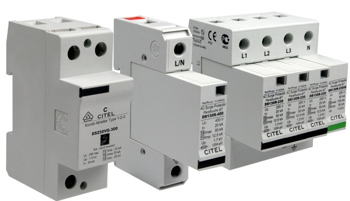 Class 1 AC surge protection device